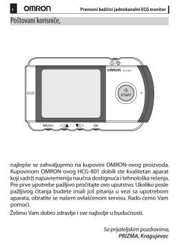Uputstvo HCG-801 2.indd