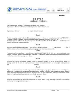 TD 05 10-11 Ugovor SW - Aneks 5