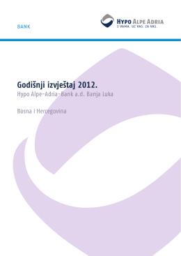 Godišnji izvještaj 2012. - Hypo Alpe-Adria