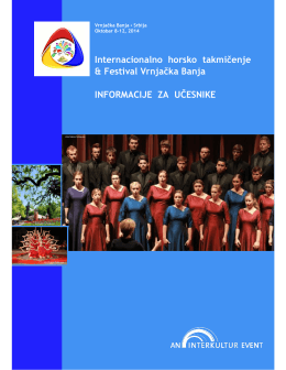 Internacionalno horsko takmičenje & Festival Vrnjačka