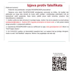 Izjava protiv falsifikata