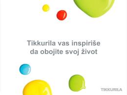 Tikkurila company presentation, Serbian