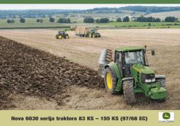 Nova 6030 serija traktora 83 KS – 155 KS (97/68 EC)