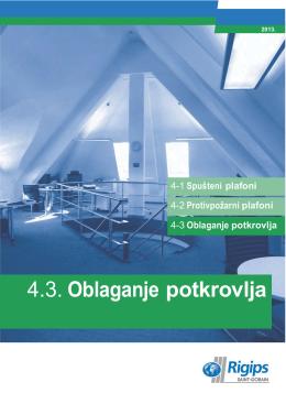 4.3. Oblaganje potkrovlja