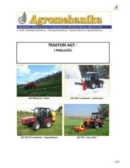 Agromehanika AGT 850-860