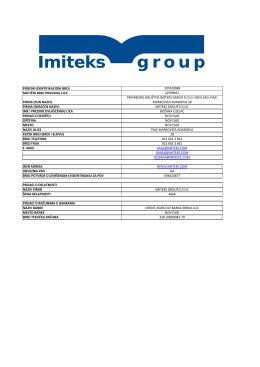 PORESKI IDENTIFIKACIONI BROJ 107420988 MATIČNI