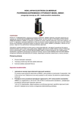"""""""HIOKI Elektroda za merenje ekstremno visokih"""