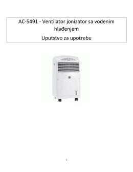 AC-5491 - Ventilator jonizator sa vodenim hlađenjem