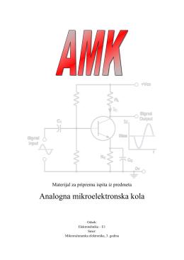 Analogna mikroelektronska kola