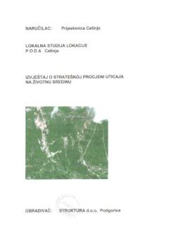 """""""Poda"""" sa Strateškom procjenom uticaja na životnu sredinu"""