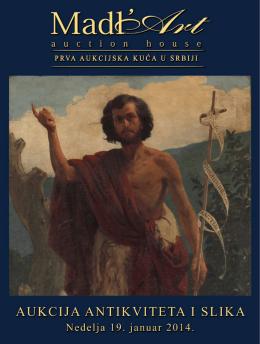 33. Aukcija antikviteta i slika