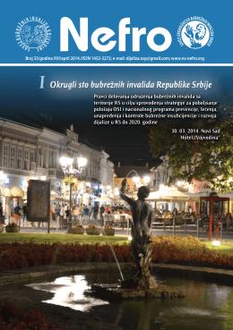 Nefro 33.pdf - Savez bubrežnih invalida Vojvodine