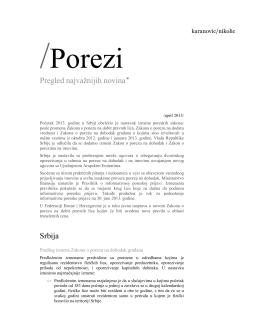 Preuzmite bilten - Karanovic & Nikolic