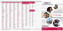 Post express mreža za prijem i dostavu pošiljaka