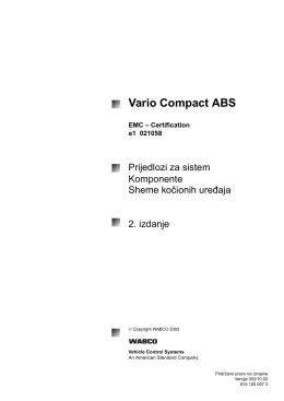 Vario Compact ABS - INFORM