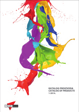 katalog 2014 - Ivas Balkan