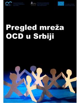 Pregled mreža OCD u Srbiji