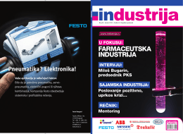 FARMACEUTSKA INDUSTRIJA