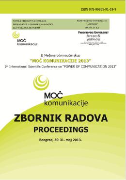 zbornik radova proceedings