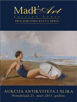 22. Aukcija antikviteta i slika