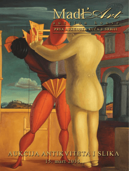 38. Aukcija antikviteta i slika