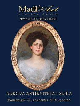 21. Aukcija antikviteta i slika