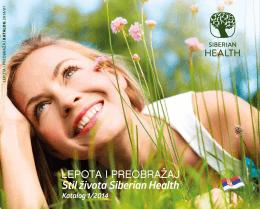 Otvoriti PDF - Siberian Health