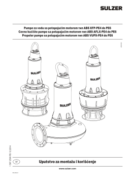 Uputstvo za montažu i korišćenje