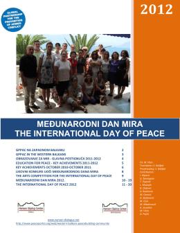 Međunarodnog dana mira 2012.
