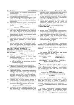 ministarstvo financija i trezora bosne i hercegovine - uip
