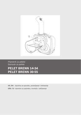 PELET BRENN 14-34 PELET BRENN 30-55