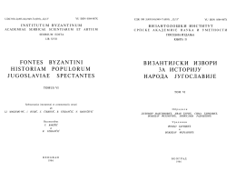 isAllowed=y;fontes byzantini historiam populorum jugoslaviae spectantes