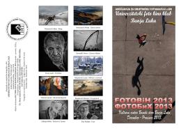 "u prilogu je katalog - foto klub ""fot"", travnik"