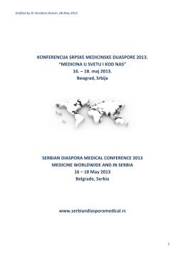 Preuzmite planirani program SDMC 2013 - IFMSA
