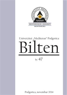 br.47 - Univerzitet Mediteran