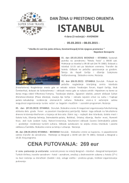 ISTANBUL - Super Star Travel