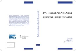 Parlamentarizam u Bosni i Hercegovini