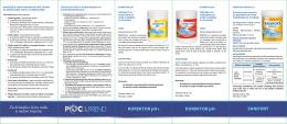 Medacom - Flajer hemija za bazene