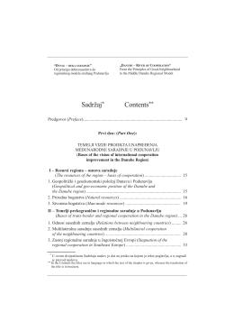 Preuzmite Sadržaj i Predgovor / Contents and Preface