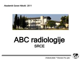 Radiologija SRCA
