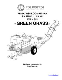 «GREEN GRASS»