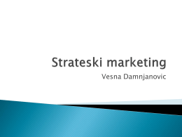 Strateski marketing