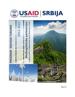 Program razvoja turizma regiona 2012-2022