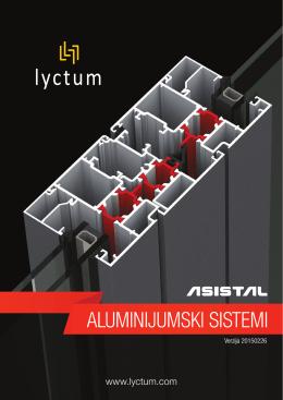 Cenovnik ASISTAL profila