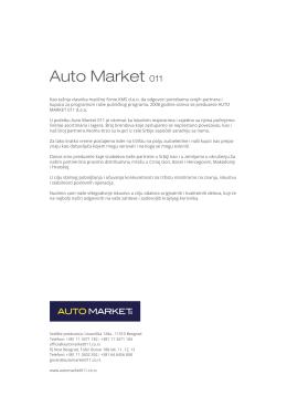Auto Market 011 1.63 MB PDF - AutoMarket, Rezervni delovi, Auto