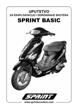 Uputstvo Basic 04 - novo za net - SPRINT Skuteri