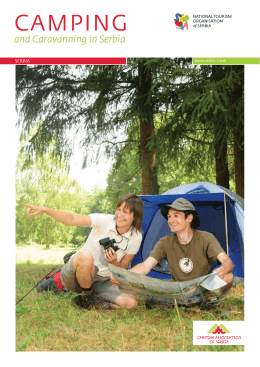 camping - National Tourism Organisation of Serbia