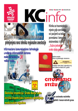 KC-Info 4.cdr - Klinički centar Banja Luka