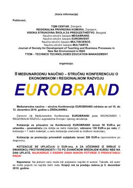 EUROBRAND Finalna Informacija