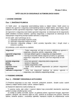 CACHEID=31f6876d-c713-426d-b74d-c660adf270f9;Opšti uslovi za osiguranje automobilskog kaska PDF, 250 KB